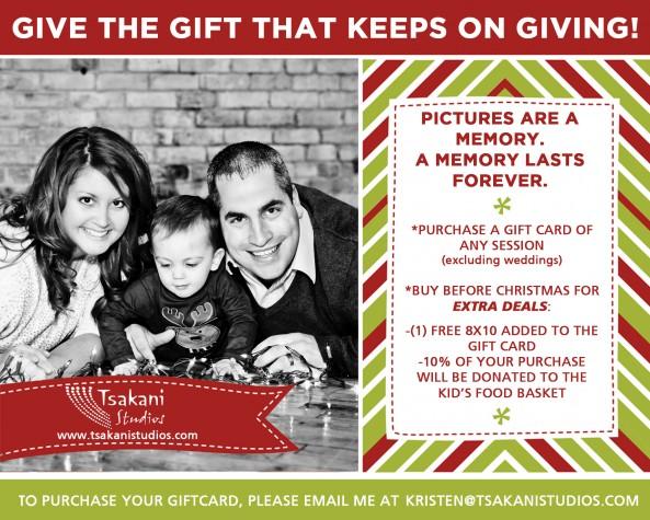 Christmas Gift Card Sale